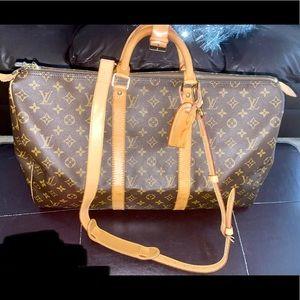 Louis Vuitton Vintage Keepall 50 w/shoulder strap
